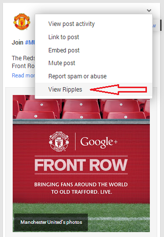 3Google Plus Ripples MU Front Row