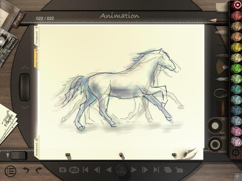 Animation Desk iPad Screenshot