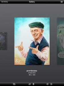 Art Rage iOS Screenshot