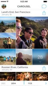 Dropbox Carousel iOS Screenshot