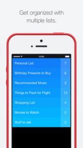 Clear iOS Screenshot