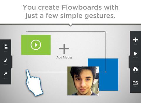 Flowboard for iPad Screenshot