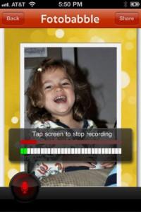 Fotobabble iOS Screenshot