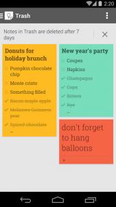 Google Keep Android Screenshot
