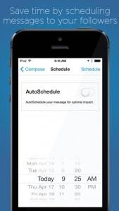Hootsuite iOS Screenshot