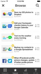 IFTTT iOS Screenshot