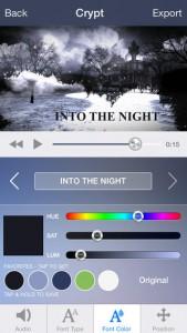 Intro Designer Screenshot