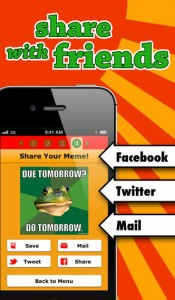 Mematic iOS Screenshot