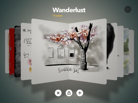 Paper by FiftyThree iOS Screenshot