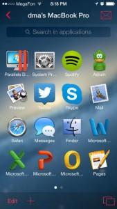 Parallels Access iOS Screenshot