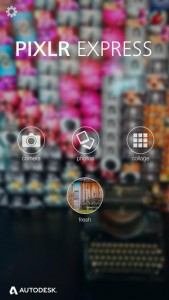 Pixlr Express iOS Screenshot