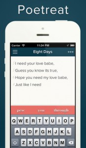 Poetreat iPhone Screenshot
