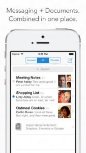 Quip iOS Screenshot