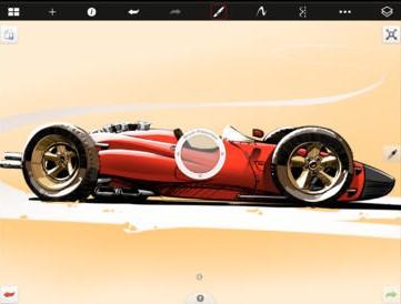 Sketchbook Express iOS Screenshot