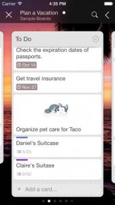 Trello iOS Screenshot