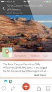 Yonder iOS Screenshot